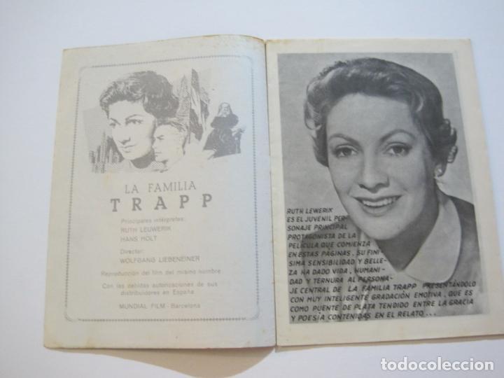 Cine: LA FAMILIA TRAPP-COLECCION COMPLETA 5 NOVELA FOTO FILM-VER FOTOS-(V-22.352) - Foto 3 - 221310771