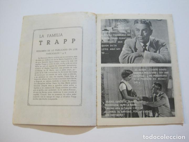 Cine: LA FAMILIA TRAPP-COLECCION COMPLETA 5 NOVELA FOTO FILM-VER FOTOS-(V-22.352) - Foto 12 - 221310771