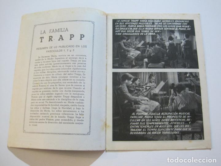 Cine: LA FAMILIA TRAPP-COLECCION COMPLETA 5 NOVELA FOTO FILM-VER FOTOS-(V-22.352) - Foto 16 - 221310771