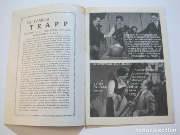 Cine: LA FAMILIA TRAPP-COLECCION COMPLETA 5 NOVELA FOTO FILM-VER FOTOS-(V-22.352) - Foto 22 - 221310771