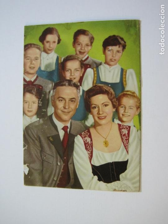 Cine: LA FAMILIA TRAPP-COLECCION COMPLETA 5 NOVELA FOTO FILM-VER FOTOS-(V-22.352) - Foto 25 - 221310771