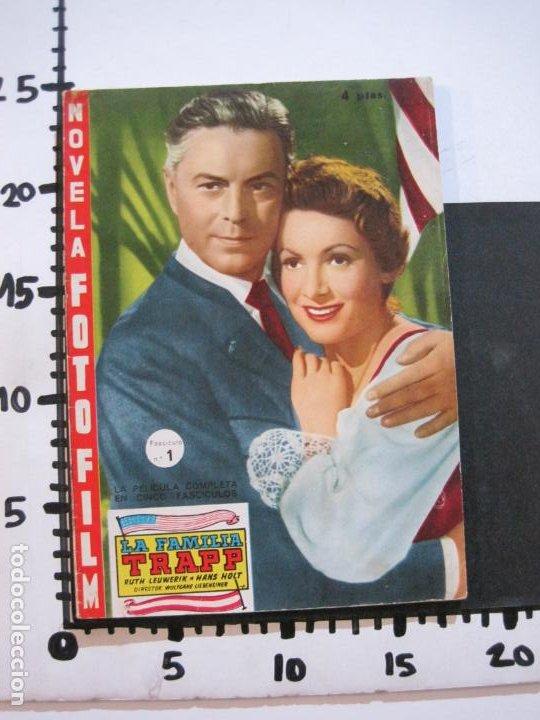 Cine: LA FAMILIA TRAPP-COLECCION COMPLETA 5 NOVELA FOTO FILM-VER FOTOS-(V-22.352) - Foto 26 - 221310771
