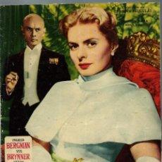 Cine: ANASTASIA - INGRID BERGMAN Y YUL BRINNER - COLECCION DE GRANDES PELICULAS - EDICIONES MANDOLINA 1959. Lote 222255351