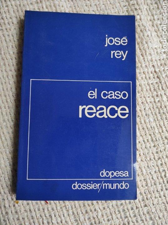 EL CASO REACE. LAS SALPICADURAS DEL ACEITE, / JOSÉ REY LIBRO DE LA PELÍCULA REACE, DE PEDRO COSTA. (Cine - Foto-Films y Cine-Novelas)