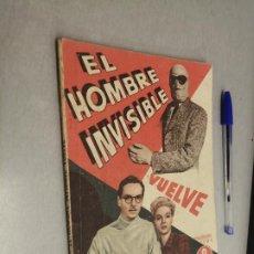 Cinema: EL HOMBRE INVISIBLE VUELVE / VINCENT PRICE / PUBLICACIONES CINEMA - EDITORIAL GRAFIDEA. Lote 229218575