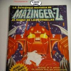 Cine: MAZINGER Z, LA AUTÉNTICA HISTORIA DE EL ROBOT DE LAS ESTRELLAS Nº 1, ED. SUPER X AÑO 1978, 6B. Lote 233808605