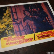 Cine: FOTO FILM THE HORROR OF PARTY BEACH, 1963. 29'5X23'5CM.. Lote 234548360