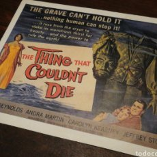 Cine: FOTO FILM THE THING THAT COULDN'T DIE, 1958. 29'5X23'5CM.. Lote 234555820