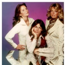 Cine: ANGELES CHARLIE KATE JACKSON FARRAH FAWCETT JACLYN SMITH CHARLIE´S ANGELS TV 1976 FOTO. Lote 235389710