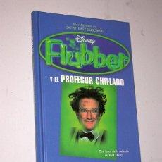 Cine: FLUBBER Y EL PROFESOR CHIFLADO. CATHY EAST DUBOWSKI. CÍRCULO DE LECTORES 1998. ROBIN WILLIAMS. Lote 235787325
