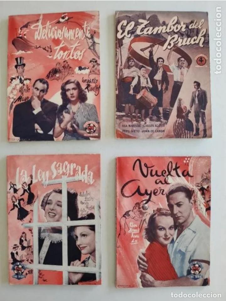 Cine: EDICIONES BISTAGNE - Lote de 11 - PRODUCCIÓN ESPAÑOLA Y SERIE TRIUNFO - Foto 3 - 235823860