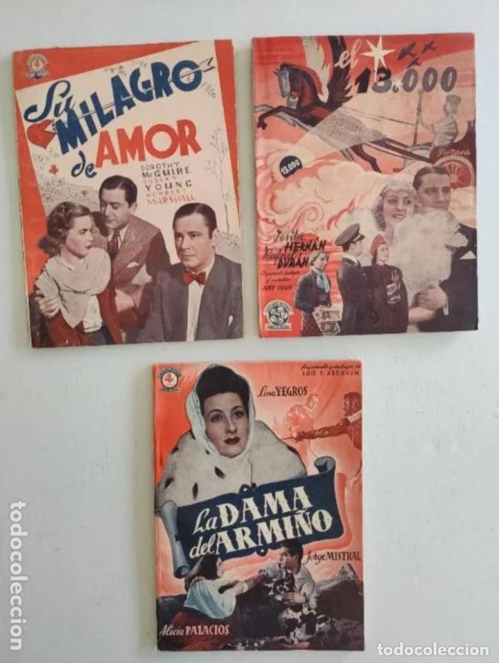 Cine: EDICIONES BISTAGNE - Lote de 11 - PRODUCCIÓN ESPAÑOLA Y SERIE TRIUNFO - Foto 5 - 235823860