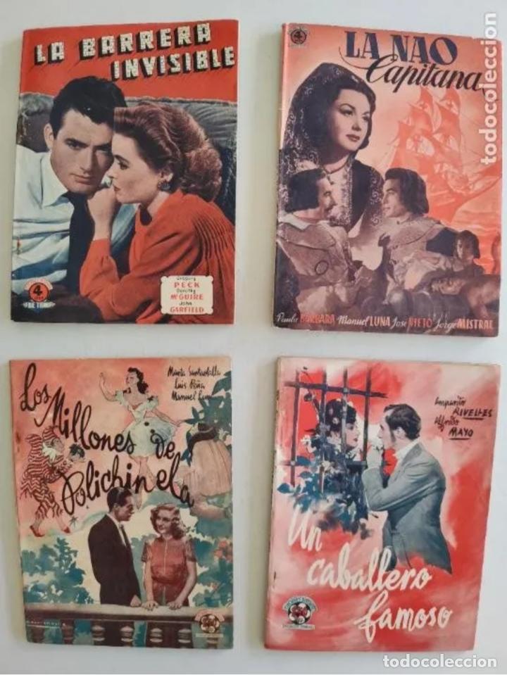 EDICIONES BISTAGNE - LOTE DE 11 - PRODUCCIÓN ESPAÑOLA Y SERIE TRIUNFO (Cine - Foto-Films y Cine-Novelas)