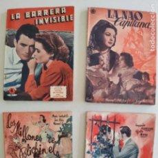 Cine: EDICIONES BISTAGNE - LOTE DE 11 - PRODUCCIÓN ESPAÑOLA Y SERIE TRIUNFO. Lote 235823860