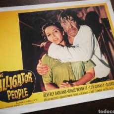 Cine: FOTO FILM THE ALLIGATOR PEOPLE, 1959. 29'5X23'5CM.. Lote 236317505