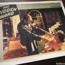 Cine: FOTO FILM THE HIDDEN HAND, 1942. 29'5X23'5CM.. Lote 236318260
