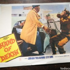 Cine: FOTO FILM HAND OF DEATH, 1962. 29'5X23'5CM.. Lote 236324390