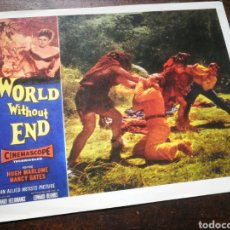 Cine: FOTO FILM WORLD WITHOUT END, 1956. 29'5X23'5CM.. Lote 236325410