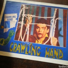 Cine: FOTO FILM THE CRAWLING HAND, 1963. 29'5X23'5CM.. Lote 236327015