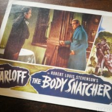 Cine: FOTO FILM THE BODY SNATCHER (BORIS KARLOFF), 1945. 29'5X23'5CM.. Lote 236327465