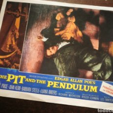 Cine: FOTO FILM THE PIT AND THE PENDULUM (VINCENT PRICE), 1961. 29'5X23'5CM.. Lote 236329975