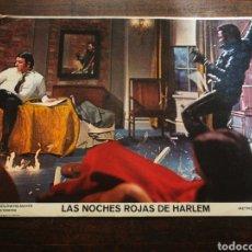 Cine: FOTO FILM LAS NOCHES ROJAS DE HARLEM, 1971. 34X24CM.. Lote 236332930