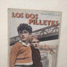 Cine: LOS DOS PILLETES Nº 269 - JACQUES TAVOLI Y SERGE GRAVE - MANUEL NIETO GALÁN - P. DECOURCELLE. Lote 236364970