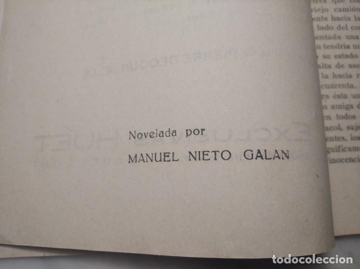 Cine: LOS DOS PILLETES Nº 269 - JACQUES TAVOLI Y SERGE GRAVE - MANUEL NIETO GALÁN - P. DECOURCELLE - Foto 9 - 236364970