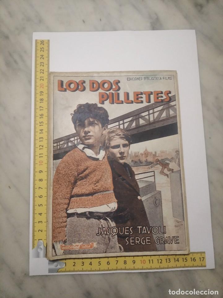 Cine: LOS DOS PILLETES Nº 269 - JACQUES TAVOLI Y SERGE GRAVE - MANUEL NIETO GALÁN - P. DECOURCELLE - Foto 13 - 236364970