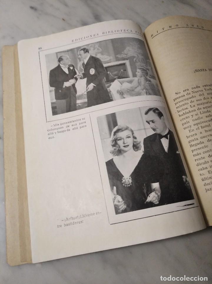 Cine: RITMO LOCO Nº 265 (EDITORIAL ALAS) BIBLIOTECA FILMS - FRED ASTAIRE Y GINGER ROGERS - AÑOS 30 - Foto 7 - 236431890