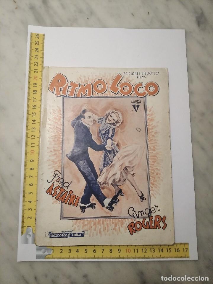 Cine: RITMO LOCO Nº 265 (EDITORIAL ALAS) BIBLIOTECA FILMS - FRED ASTAIRE Y GINGER ROGERS - AÑOS 30 - Foto 11 - 236431890