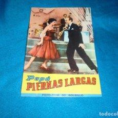 Cine: FOTO-FILM DE BOLSILLO Nº 4 : PAPA PIERNAS LARGAS. EDT. MANDOLINA, 1959. Lote 241275005