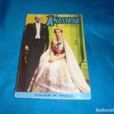 Cine: FOTO-FILM DE BOLSILLO Nº 6 : ANASTASIA. EDT. MANDOLINA, 1959. Lote 241275200
