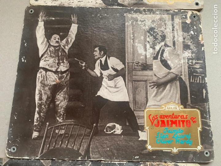 Cine: STAN LAUREL Y OLIVER HARDY LAS AVENTURAS DE JAIMITO - Foto 4 - 241280295