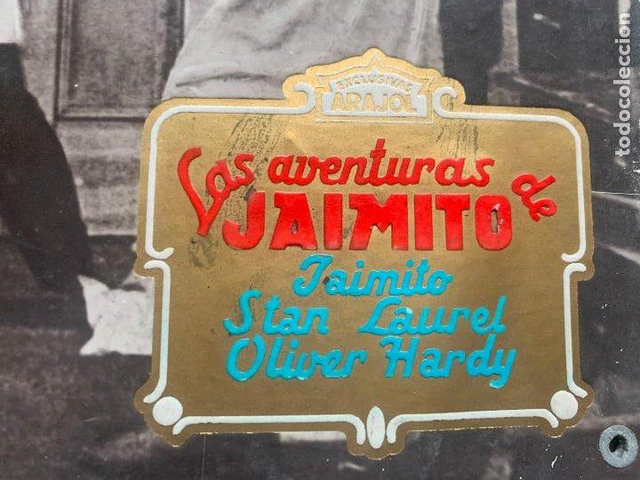 Cine: STAN LAUREL Y OLIVER HARDY LAS AVENTURAS DE JAIMITO - Foto 6 - 241280295