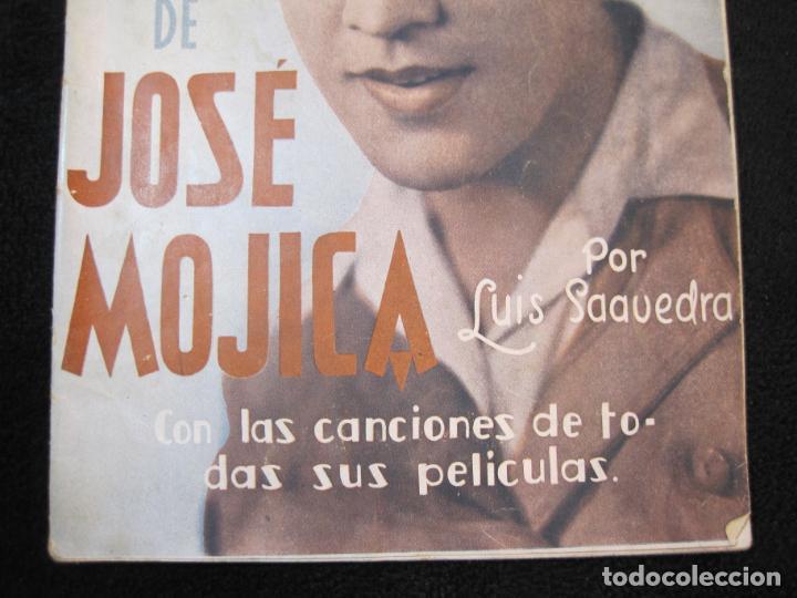 Cine: JOSE MOJICA-LA VIDA INTIMA-AÑO 1931-CON FOTOS-EDICIONES EL CINE-VER FOTOS-(K-1926) - Foto 3 - 243872025