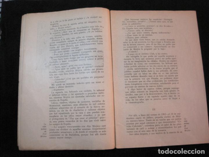 Cine: JOSE MOJICA-LA VIDA INTIMA-AÑO 1931-CON FOTOS-EDICIONES EL CINE-VER FOTOS-(K-1926) - Foto 6 - 243872025