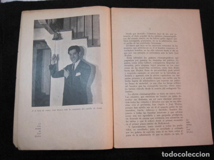Cine: JOSE MOJICA-LA VIDA INTIMA-AÑO 1931-CON FOTOS-EDICIONES EL CINE-VER FOTOS-(K-1926) - Foto 7 - 243872025