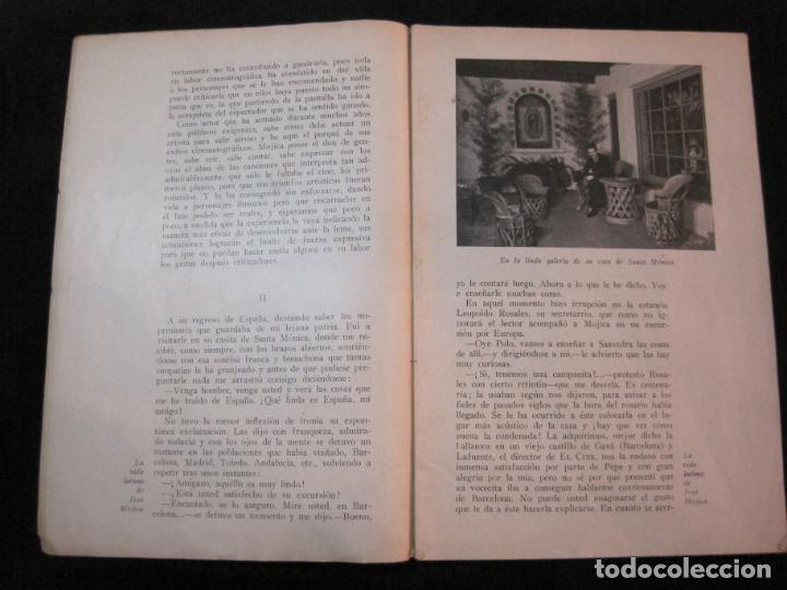 Cine: JOSE MOJICA-LA VIDA INTIMA-AÑO 1931-CON FOTOS-EDICIONES EL CINE-VER FOTOS-(K-1926) - Foto 8 - 243872025