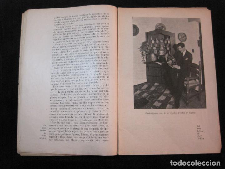 Cine: JOSE MOJICA-LA VIDA INTIMA-AÑO 1931-CON FOTOS-EDICIONES EL CINE-VER FOTOS-(K-1926) - Foto 9 - 243872025