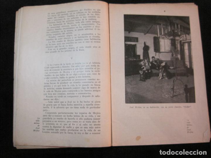 Cine: JOSE MOJICA-LA VIDA INTIMA-AÑO 1931-CON FOTOS-EDICIONES EL CINE-VER FOTOS-(K-1926) - Foto 10 - 243872025