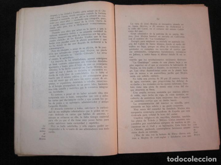 Cine: JOSE MOJICA-LA VIDA INTIMA-AÑO 1931-CON FOTOS-EDICIONES EL CINE-VER FOTOS-(K-1926) - Foto 12 - 243872025