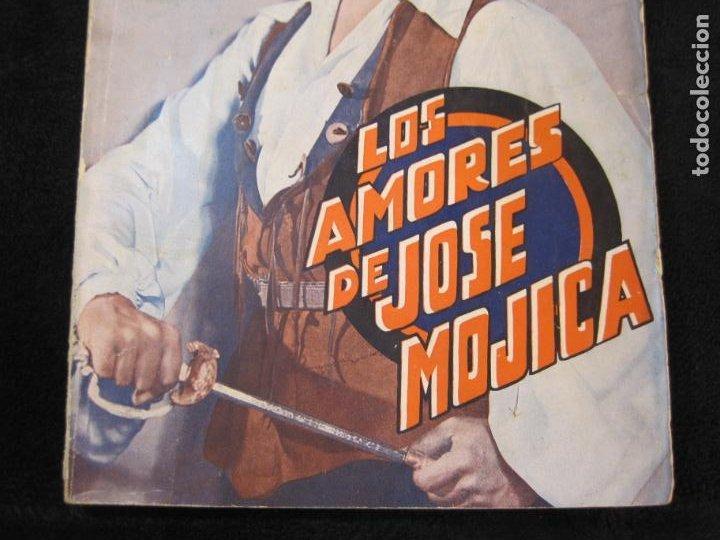 Cine: JOSE MOJICA-LOS AMORES DE JOSE MOJICA-CON FOTOS-EDICIONES BISTAGNE-VER FOTOS-(K-1927) - Foto 3 - 243872510