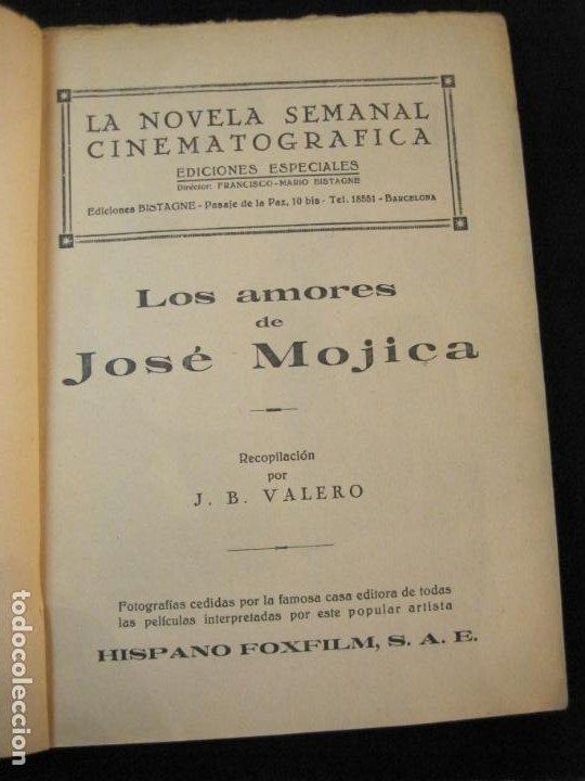 Cine: JOSE MOJICA-LOS AMORES DE JOSE MOJICA-CON FOTOS-EDICIONES BISTAGNE-VER FOTOS-(K-1927) - Foto 10 - 243872510