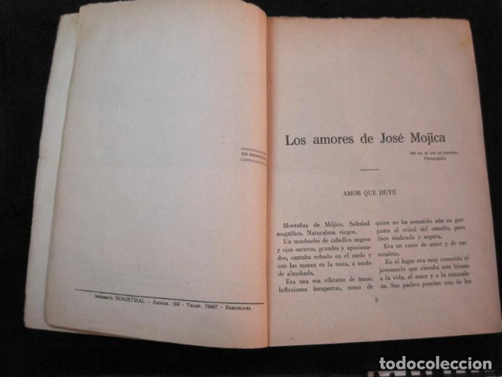 Cine: JOSE MOJICA-LOS AMORES DE JOSE MOJICA-CON FOTOS-EDICIONES BISTAGNE-VER FOTOS-(K-1927) - Foto 11 - 243872510