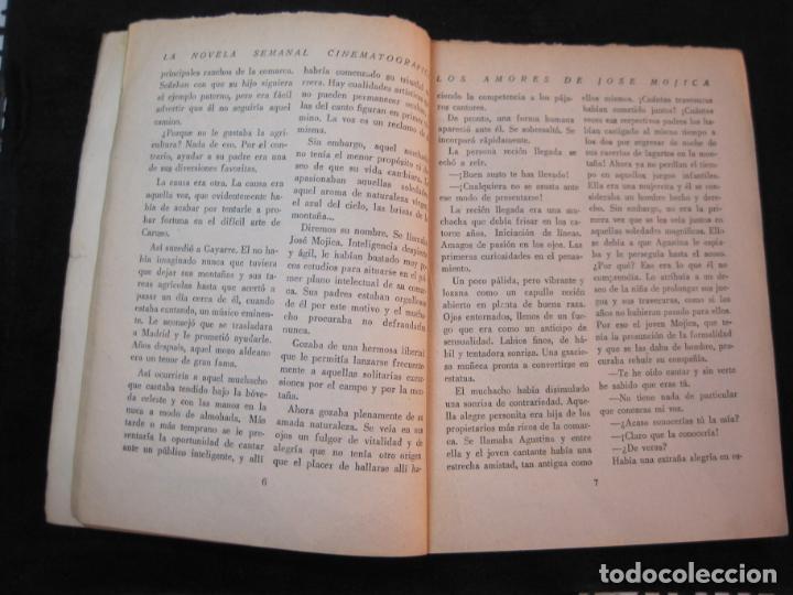 Cine: JOSE MOJICA-LOS AMORES DE JOSE MOJICA-CON FOTOS-EDICIONES BISTAGNE-VER FOTOS-(K-1927) - Foto 12 - 243872510