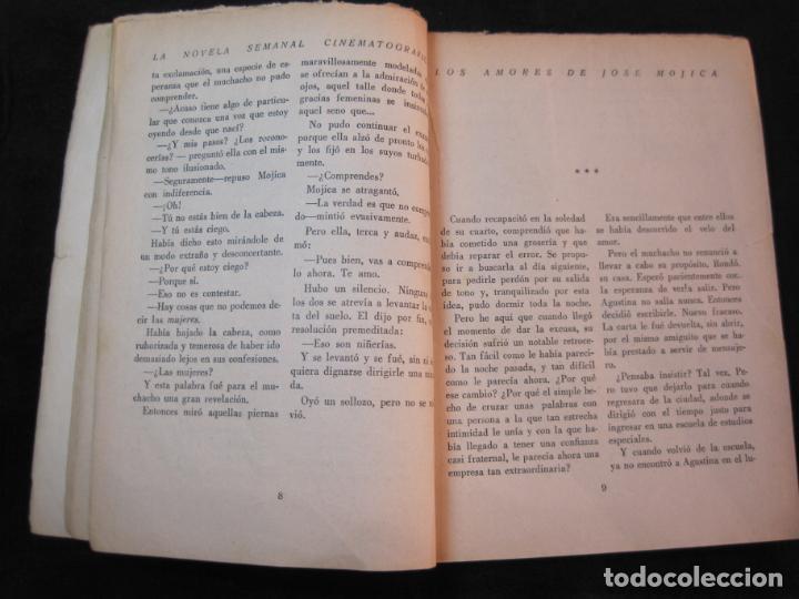 Cine: JOSE MOJICA-LOS AMORES DE JOSE MOJICA-CON FOTOS-EDICIONES BISTAGNE-VER FOTOS-(K-1927) - Foto 13 - 243872510
