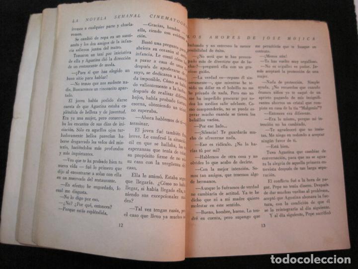 Cine: JOSE MOJICA-LOS AMORES DE JOSE MOJICA-CON FOTOS-EDICIONES BISTAGNE-VER FOTOS-(K-1927) - Foto 16 - 243872510