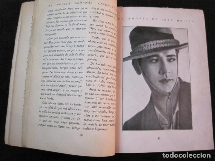 Cine: JOSE MOJICA-LOS AMORES DE JOSE MOJICA-CON FOTOS-EDICIONES BISTAGNE-VER FOTOS-(K-1927) - Foto 18 - 243872510