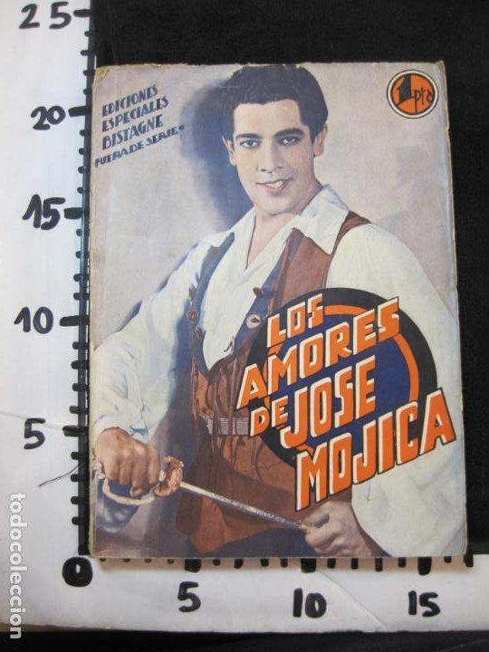 Cine: JOSE MOJICA-LOS AMORES DE JOSE MOJICA-CON FOTOS-EDICIONES BISTAGNE-VER FOTOS-(K-1927) - Foto 29 - 243872510